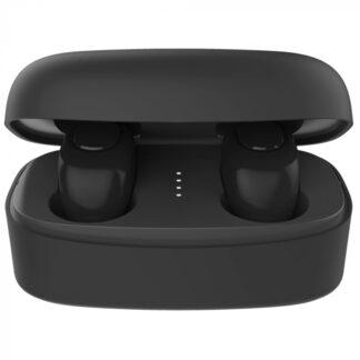 Характеристики QCY T9S Характеристики Bluetooth Bluetooth 5.0 Чип PAU1603 Излучатель 6-мм динамический драйвер Частотная характеристика 20-20000 Гц Чувствительность 104 ± 3 дБ Тип батареи литий-ионный полимерный аккумулятор Емкость аккумулятора наушников 43 мАч Емкость зарядного бокса 380 мАч Время зарядки 1,5-2 часа Время музыки 4,5 часа Общее время музыки около 20 часов Интерфейс подключения Micro USB Материал пластик ABC Цвет черный Распаковка Ко мне на обзор наушники QCY T9S попали в небольшой белой картонной коробке. На лицевой стороне я вижу изображение зарядного бокса с красочным фоном напоминающим силуэт гитары. QCY T9S Обзор: Беспроводные TWS наушники с эквалайзером В верхнем левом углу находится логотип QCY, а внизу — надпись TWS Bluetooth-гарнитура и название модели T9S. QCY T9S Обзор: Беспроводные TWS наушники с эквалайзером На обратной стороне коробки находится основная информация об устройстве на китайском и английском языке. Когда я снял верхнюю обложку, то увидел что коробка разделена на два отсека. В верхнем отсеке расположен зарядный бокс с наушниками внутри, в нижнем — находится микро USB зарядный кабель, 2 пары силиконовых держателей, 3 пары амбушюры и инструкция на китайском и английском языке. QCY T9S Обзор: Беспроводные TWS наушники с эквалайзером Как видите, комплектация здесь стандартная, как для бюджетных устройства, но этого вполне достаточно для комфортного использования наушников. QCY T9S: Дизайн Зарядный бокс имеет довольно распространенный дизайн в виде «мыльницы» с закругленными углами. Корпус выполнен из матового черного пластика, он не маркий, и на нем почти не остаются отпечатки пальцев. QCY T9S Обзор: Беспроводные TWS наушники с эквалайзером На крышке зарядного бокса имеется логотип бренда QCY. Снизу нанесена информация о зарядном устройстве: модель In1950, вход: 5V⎓400mA, емкость аккумулятора: 380mAh, 1.406Wh. QCY T9S Обзор: Беспроводные TWS наушники с эквалайзером Спереди бокса установлен светодиод индикации зарядки, сзади наход